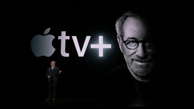 Steven Spielberg partners with Apple. © Apple